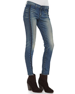 rag & bone/JEAN Split Separating Legging Jeans, Brimfield
