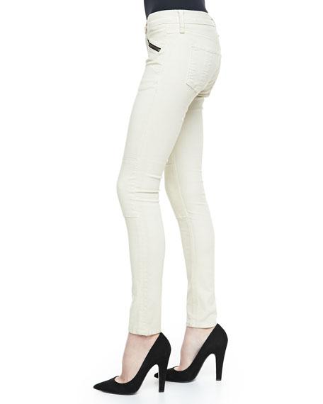 Ridley Moto Leggings, White