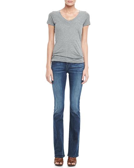 Becky Midnight Fog Boot-Cut Jeans
