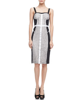 Rebecca Minkoff Clarissa Fitted Bustier Dress