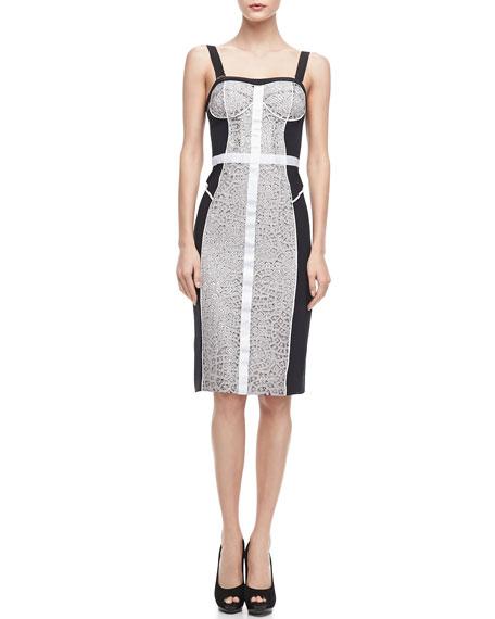 Clarissa Fitted Bustier Dress