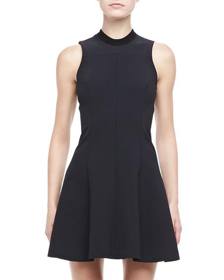 Fassica Sleeveless Crepe Dress