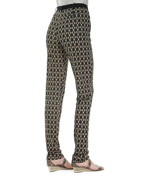 Suhtai Tapered Leg Pants, Sand/Multicolor