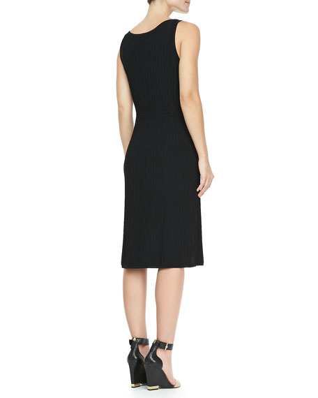 Klara Textured Knit Dress