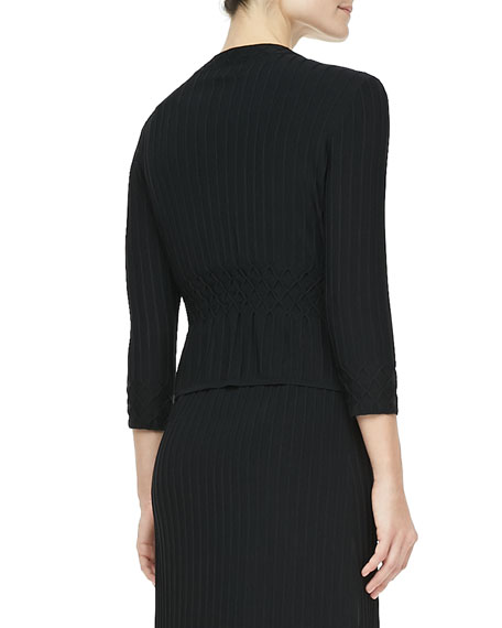Klara Textured Knit Cardigan