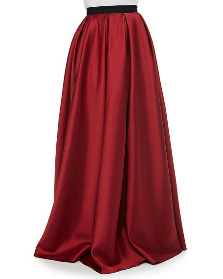 Satin Pocket Ball Skirt