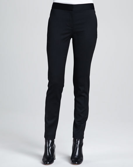 Fia Stretch-Wool Pants