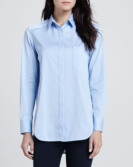 Fedele Button-Front Blouse