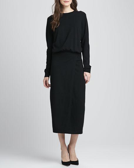 Caterinya Blouson Stretch Dress