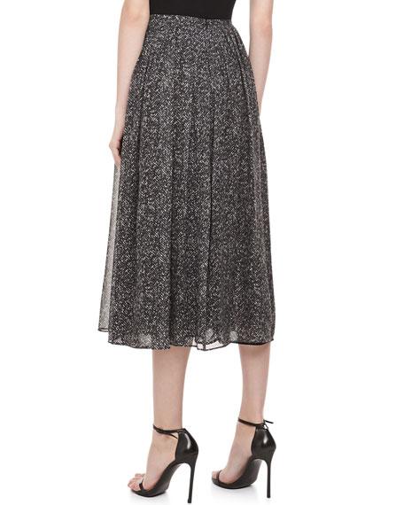 Herringbone Chiffon Dance Skirt