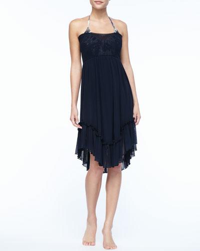Jean Paul Gaultier Chiffon Dress/Skirt Cover