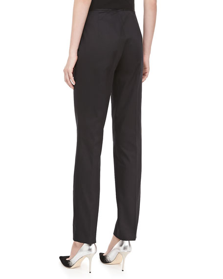 Relaxed Stretch-Twill Pants