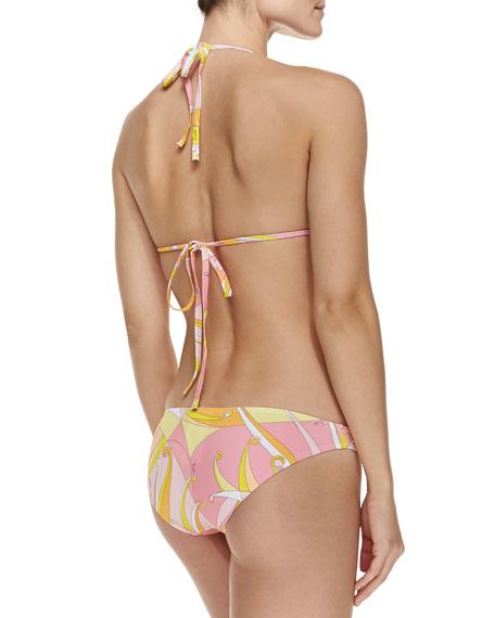 Fenice-Print String Bikini