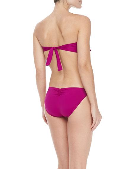 Dreamer Strapless Ruffled Monokini Swimsuit