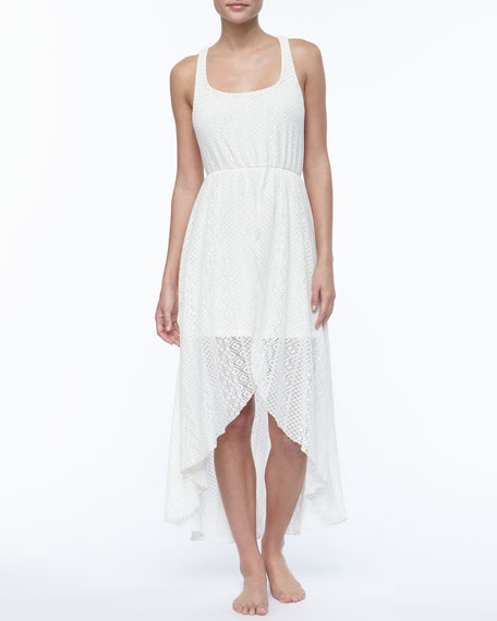 Swept Away Crochet Dress