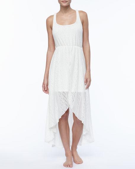 Swept Away Crochet Dress