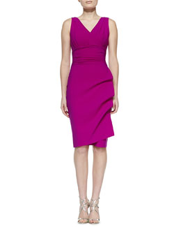 La Petite Robe by Chiara Boni Becky Sleeveless Cocktail Dress, Cyclamen