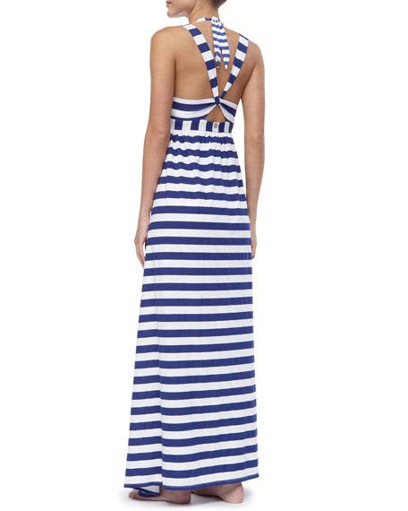 Utopia Striped Cotton Dress