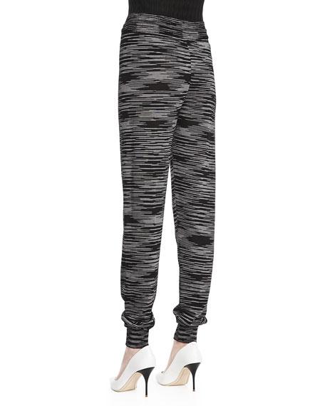 Double-Knit Space Dye Pants