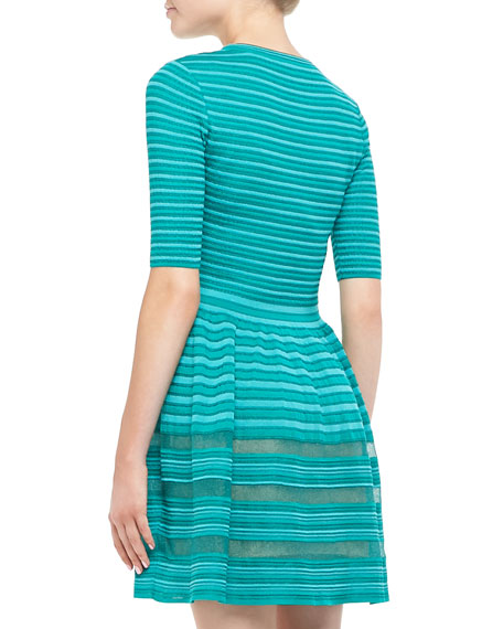 Solid Rib Stitch Dress