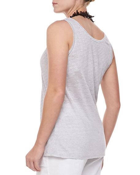 Linen Jersey Striped Tank, Women's