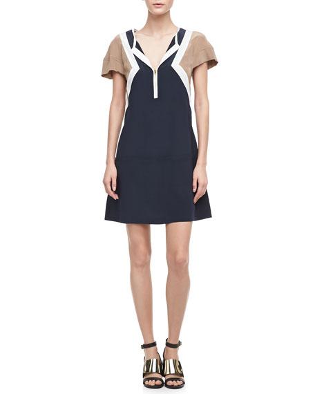 Frances Tricolor Dress