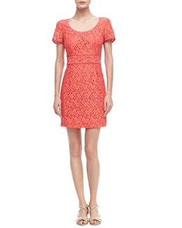 MARC by Marc Jacobs Luna Fitted Lace Dress