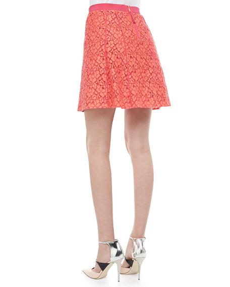 Luna A-Line Lace Skirt