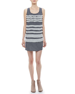 MARC by Marc Jacobs Juna Printed Tiered Dress