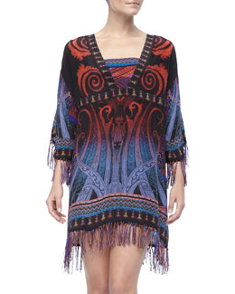 Gottex Multi-Color Print Coverup