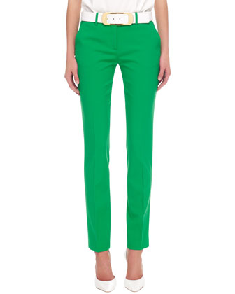 Samantha Slim Pants, Palm