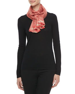 Michael Kors Space-Dye Knit Scarf