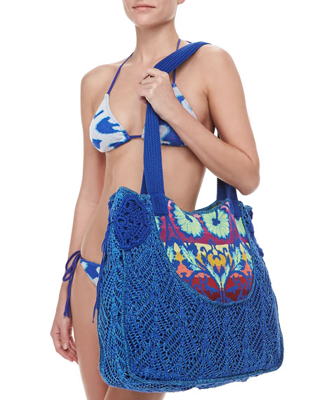 Tropicalia Crochet Beach Bag
