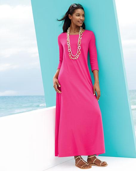 Interlock Easy Maxi Dress, Women's