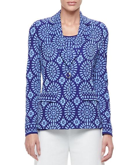 Isadora One-Button Jacket