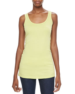 XCVI Thin-Strap Cotton Tank
