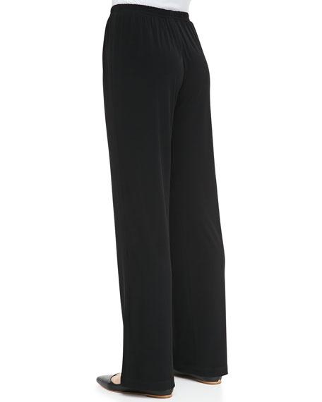 Stretch Straight Leg Pants