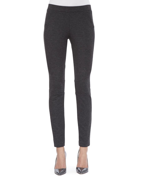 Legging with Curved Seams