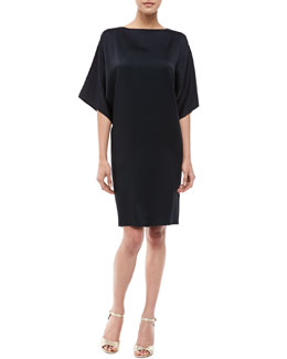 Michael Kors Boat-Neck Shift Dress