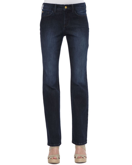 Marilyn Tustin Wash Straight-Leg Jeans