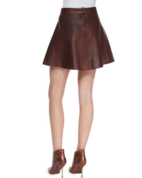 Stevenson Leather Skirt