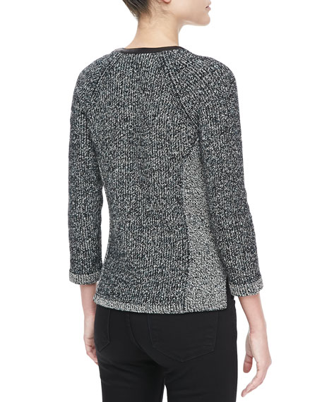Jackie Knit Zip Jacket