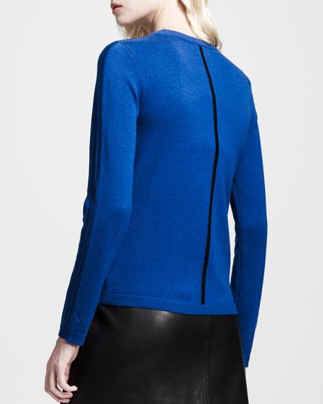 Briana Center-Stripe Pullover
