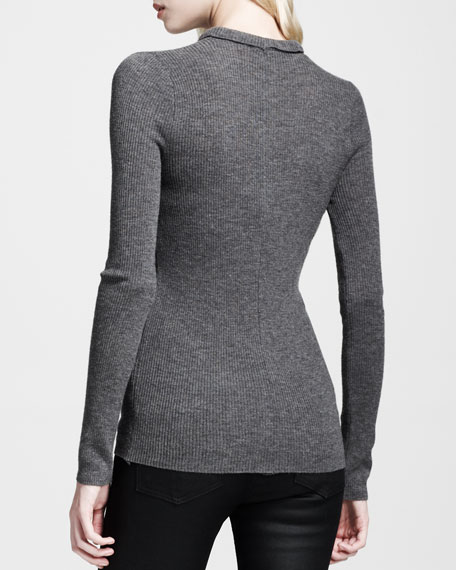 Becca Ribbed Pullover Top