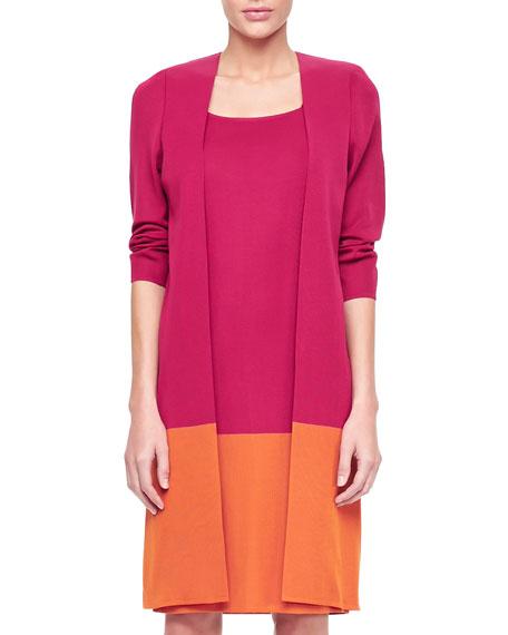 Long Colorblock Jacket, Women's