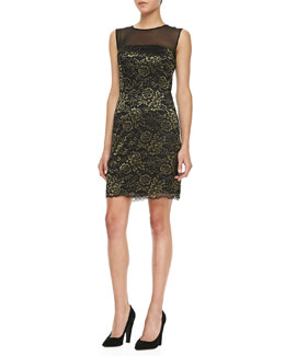 Diane von Furstenberg Nisha Sleeveless Lace Dress