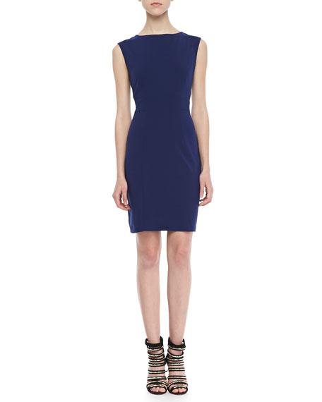Rosa Cap-Sleeve Shift Dress
