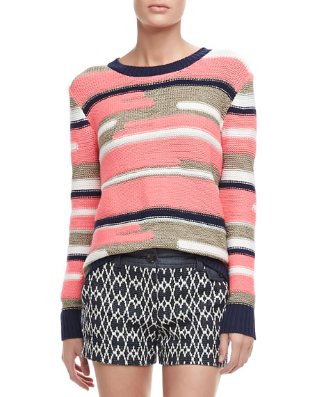 Disah Striped Knit Sweater