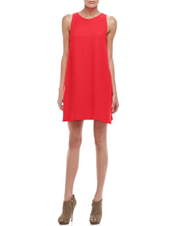 Trina Turk Lysette Sleeveless Trapeze Dress