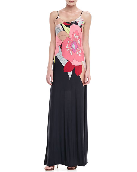 Palau Floral-Print Maxi Dress